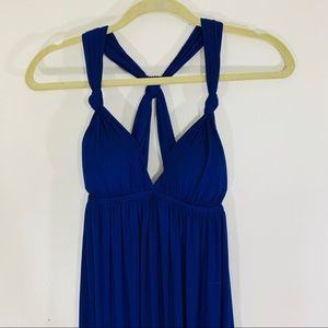 Twenty One Blue Adjustable Dress; S
